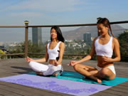 Alina Li And Veronica Rodriguez Yoga