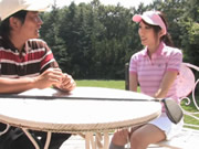 Japanese After Golf Cum In Mouth