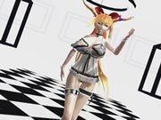 3d Mmd Suika Shakes Her Big Titties And Sweet Ass In Luvoratorrrrry