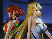 Mmd Sex Xenoblade Pyra and Mythra